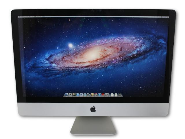 【ド迫力大画面】iMac 27 Mid2011