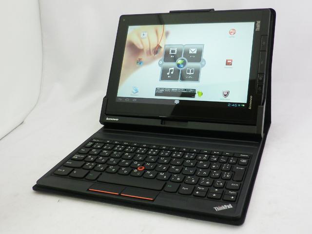 【10.1型Android搭載タブレット】 ThinkPad Tablet