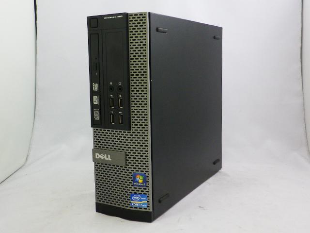 中古パソコン デスクトップ DELL OPTIPLEX 990 /Windows7/Core i7/メモリ8GB/HDD320GB/
