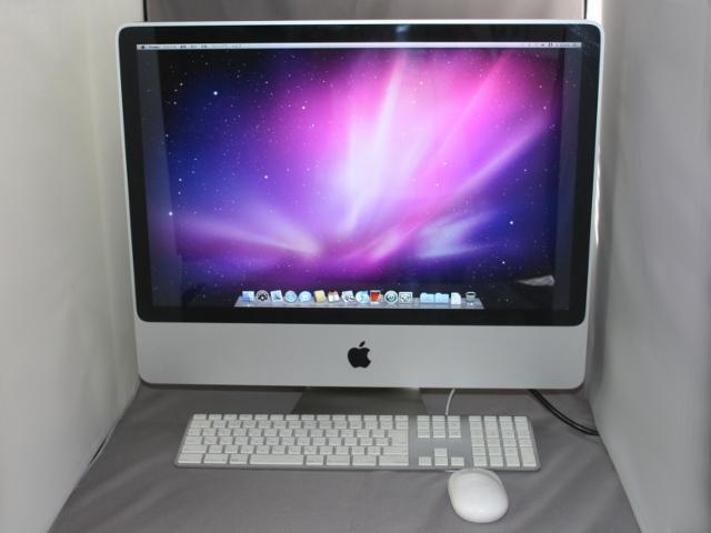 �yApple�L�[�{�[�h�E�}�E�X�t���z iMac 24�C���` (Early 2008)