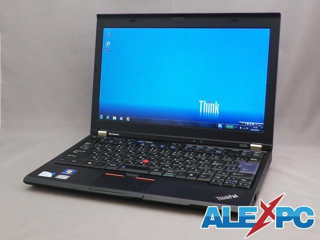 【無線LAN内蔵/軽量12インチ】 ThinkPad X220i