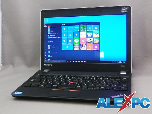 【ちょい訳有り大特価★最新Win10導入済】 ThinkPad E130