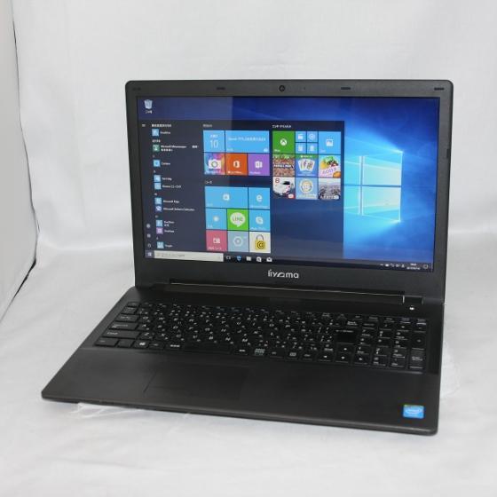 中古パソコン ノート iiyama CLEVO W950AU/15インチ/Windows10/Celeron/メモリ4GB/HDD320GB/