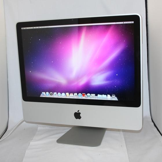 中古パソコン 一体型 Apple iMac Early2009 /20インチ/Core2Duo/メモリ2GB/HDD320GB/