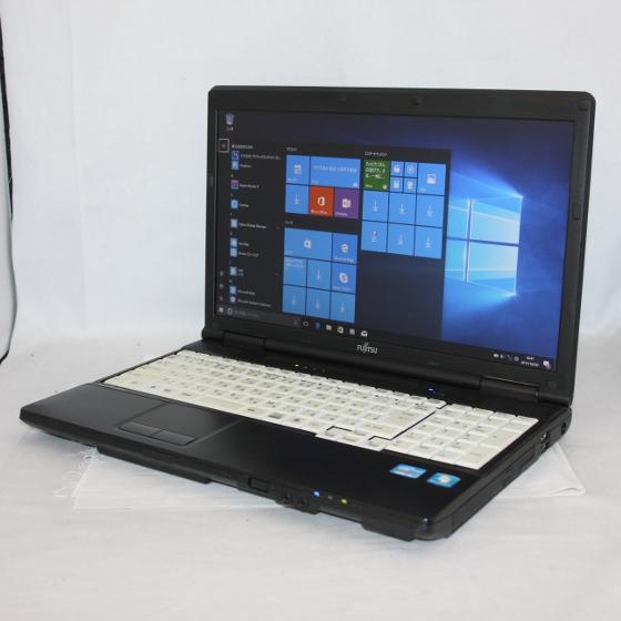 中古パソコン ノート 富士通 FMV LIFEBOOK A561/D /15.6型ワイド/Windows10/Core i5/メモリ4GB/HDD250GB/
